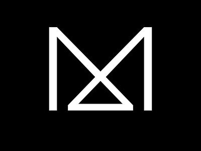 Letter M Exploration sophisticated m mark minimal m letter mark logo art design vector illustration branding