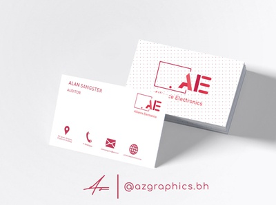 Corporate Company Business Card Design