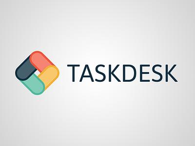 Taskdesk Logo branding vector design logo