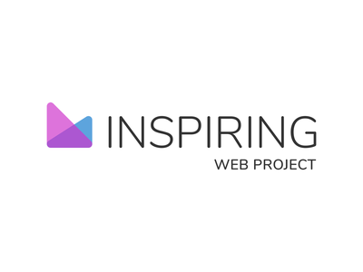 Inspiring Web Project vector illustrator website branding design logo
