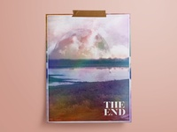 THE END   Poster Design
