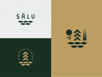Salu modern natural apartments water trees northwest scandinavian