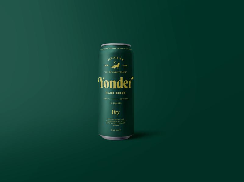 Yonder Dry Cider wolf dry hard cider cider