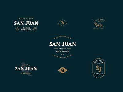 San Juan Island Brewing Co logo historic brewery brewing san juans island