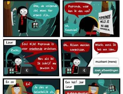 The Worst Grim Reaper - Popronde Comic