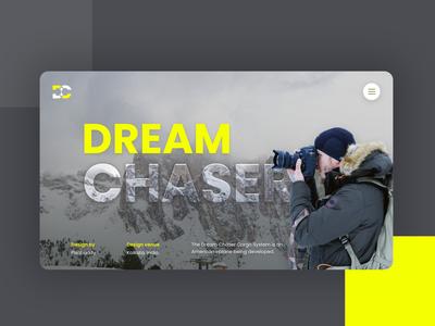 Dream Chaser UI..
