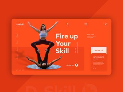 D-Skill UI concept..