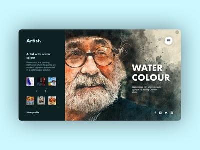 Artist UI Concept