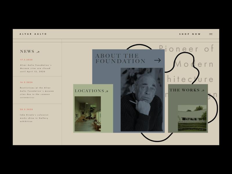 Alvar Aalto Website Redesign