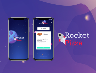 Rocket Pizza App (UI)