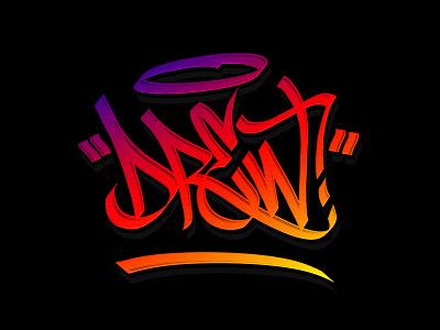 Drew Tag calligraphy letters wildstyle handwriting letterforms flow handlettering handstyle lettering tag graffiti graffitti