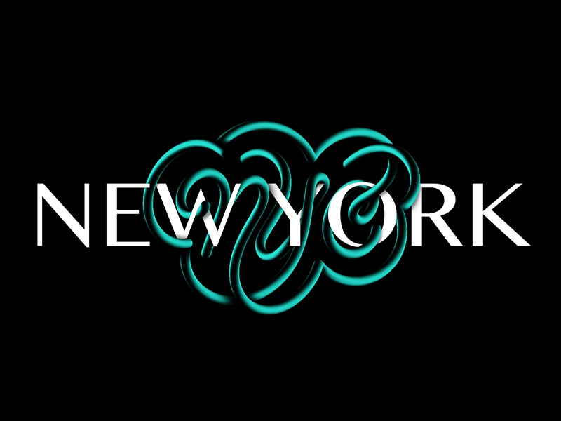 NYC america travel city letters ligature customlettering handlettering type typography lettering nyc newyork