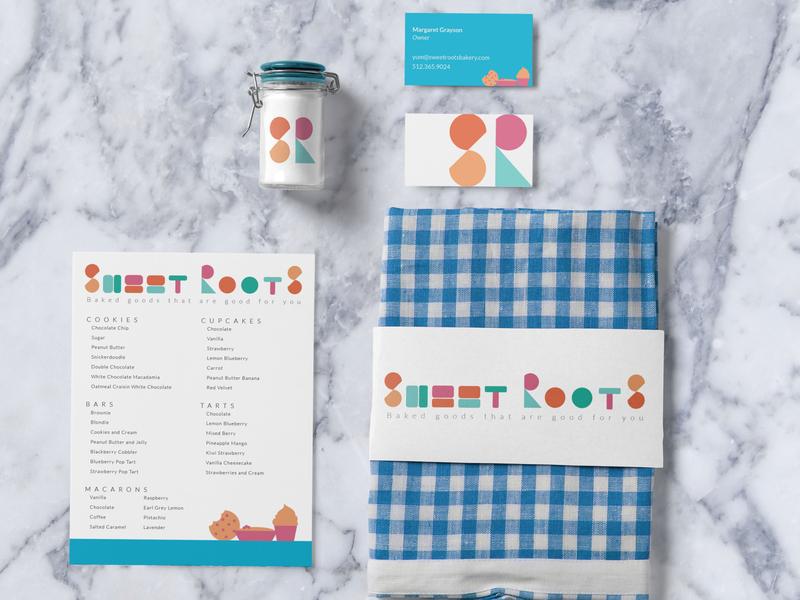 Sweet Roots Branding
