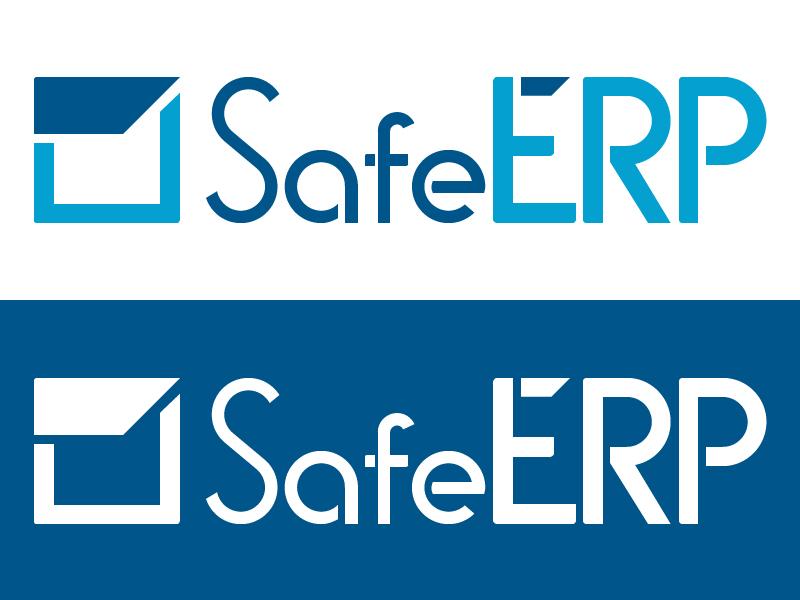 SafeERP logo safeerp safe logo mark logotype mark