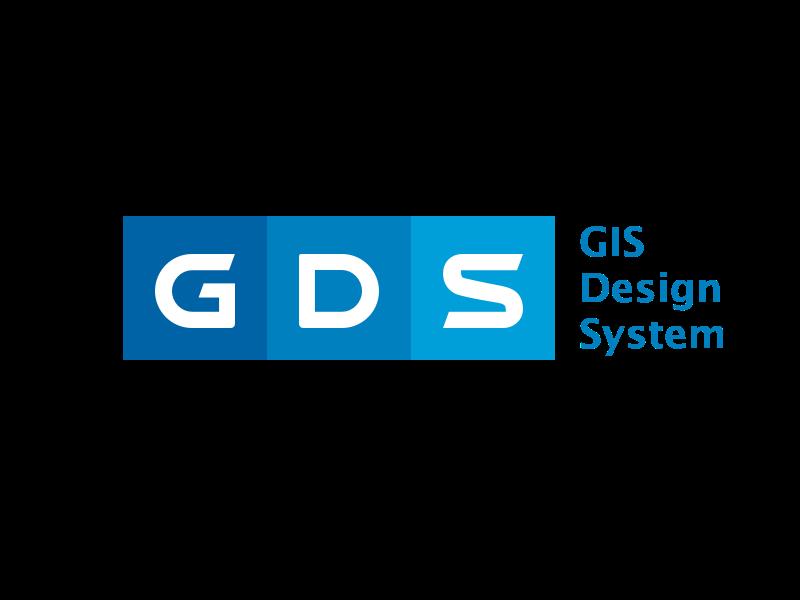 Gis Design System design system logo letterlogo