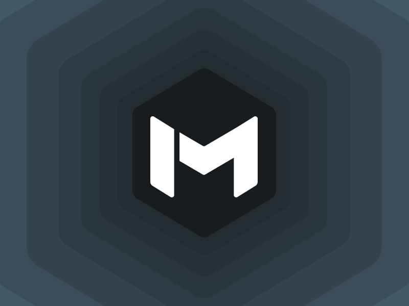 Logo design for Mashive (v.1) hive hexagon hex m logo logotype logo