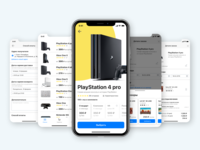 Game console sharing App