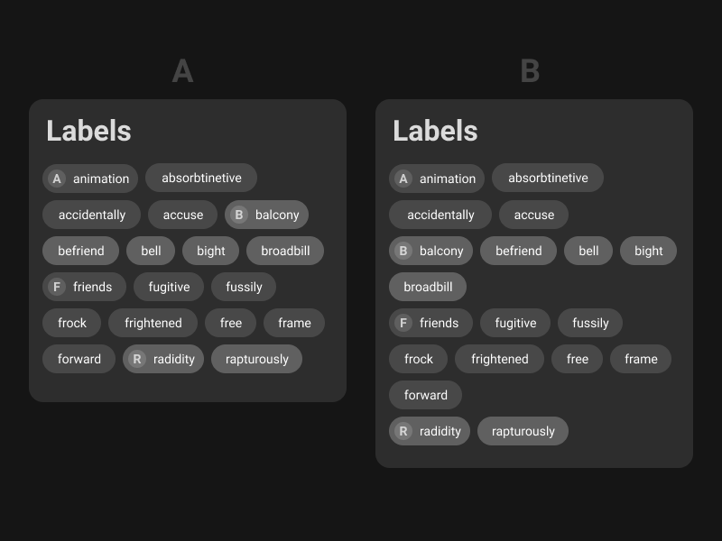 "Rebound of "" See Merged Entities"" labels tag line tag"