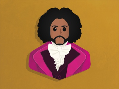 Thomas Jefferson musical broadway jefferson hamilton fan art design character design illustration