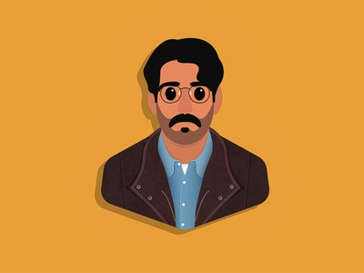 Owen portrait illustration vector fan art character design rahul kohli netflix chef the haunting of bly manor bly manor owen
