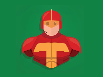 Turboman vector illustration schwarzenegger holidays arnold superhero christmas minimal minimalism illustrator vector fan art character design illustration