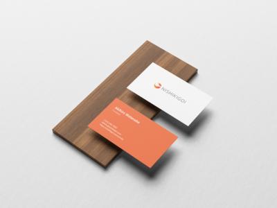 Nishikigoi Logo Design - Business Card