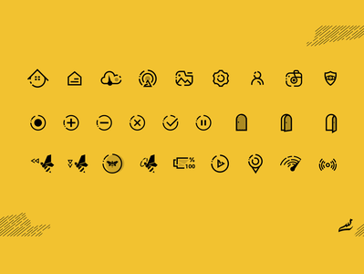 Icon set line icons line icon line art lineart abstract clear design clean ui modern ui  ux uiux ui design uidesign ui assist icon design iconography icon set icons icon