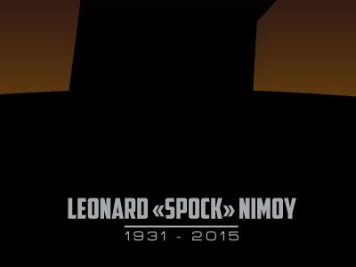 R.I.P. Leonard Nimoy rip leonard nimoy spock nimoy startrek star trek sf legende actor icon full vector vector