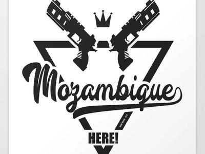 Apex Legends: Mozambique Here! vector joke gaming
