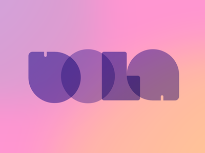 Bola display type font bola