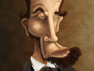 Abe Lincoln Caricature