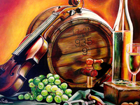 Wine and Barrel