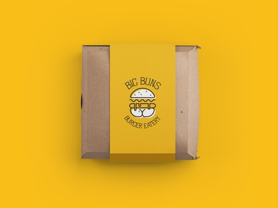 Big Buns Burger Eatery Packaging
