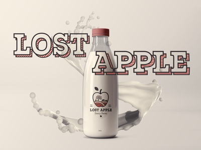 Lost Apple Dairy Farm Packaging
