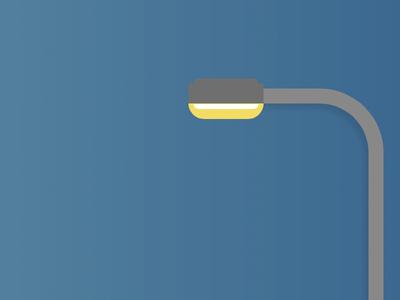 Streetlamp Day