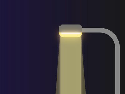 Streetlamp Night