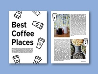 Best Coffee Places Layout