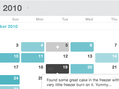 Day One Calendar View macapp day one