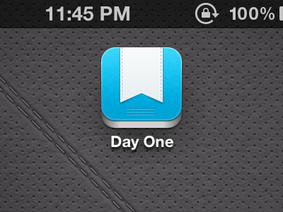 Day One iOS icon update dayone icon iphone