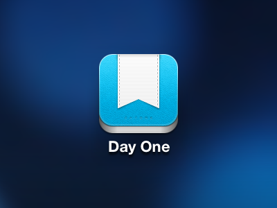 Day One iPhone Icon Update ios icon