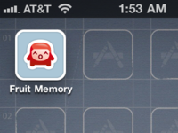 Fruit Memory iPhone icon