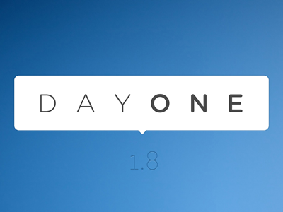 Day One 1.8