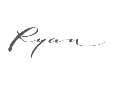 Crooked Howlet Designs - Ryan logo georgian constantin calligraphic logo calligraphy logo crooked howlet anotheroutsider lettering calligraphy