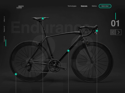 Biked Product page