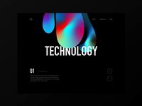 Tech-Design-Data Homepage Prototype