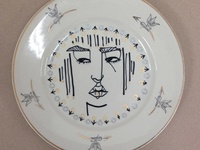 """Face On a Plate"". The Repurpose Project June 2014."