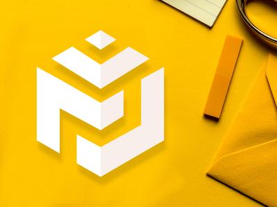 M J Creative logo