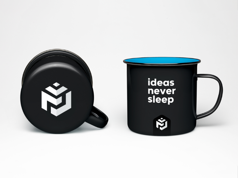 Ideas Never Sleep (Mug Design) by M Jamshaid on Dribbble