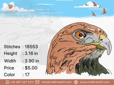Eagle Face vector vectorizing services logodesign embroidery digitizing convert your artworks to vector custom digitization in usa custom computerised embroidery custom embroidery digitizing custom digitizing custom t-shirt desgn