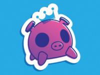 iPig Sticker